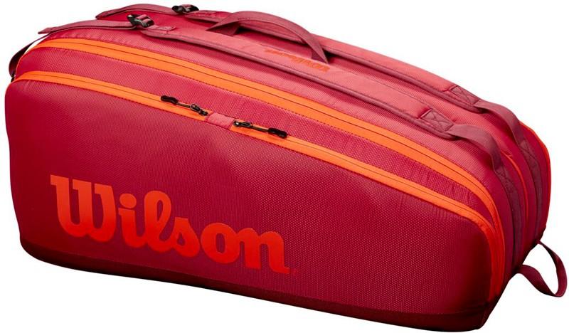 Теннисная сумка Wilson Tour 12 Pk Bag maroon