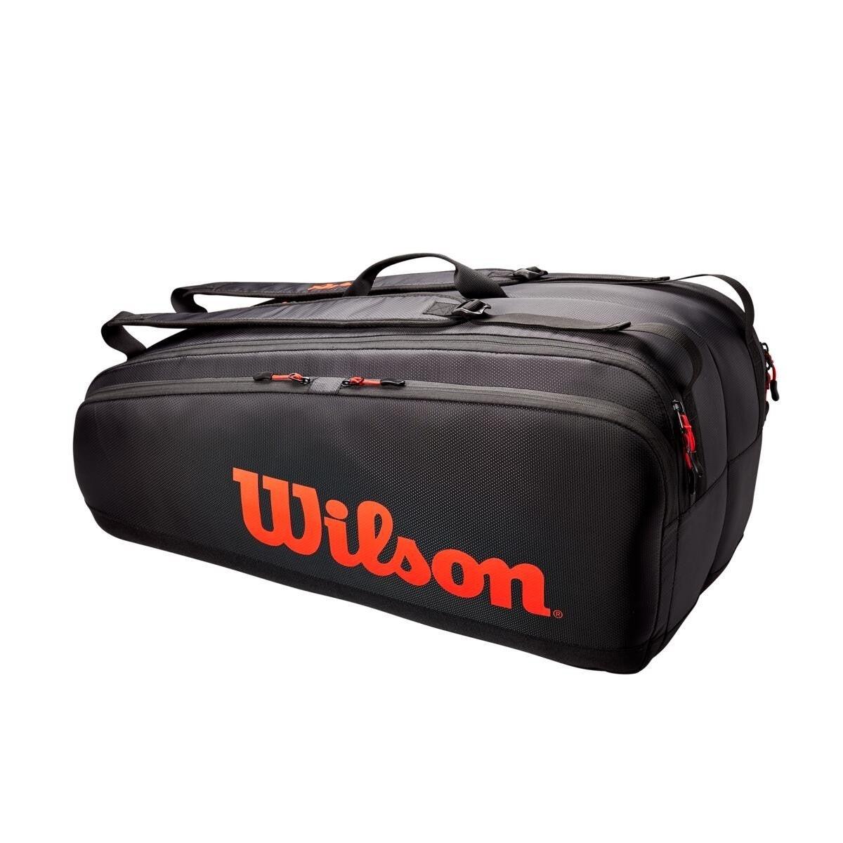 Теннисная сумка Wilson Tour 12 Pk Bag red/black