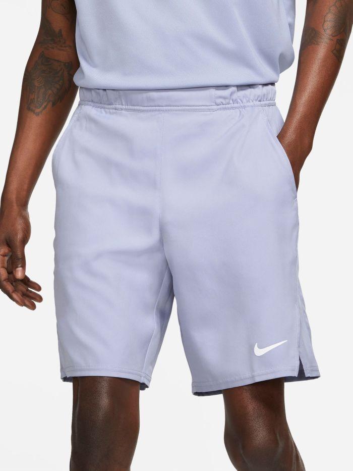 Теннисные шорты мужские Nike Court Flex Victory 9IN Short indigo haze/indigo haze/white