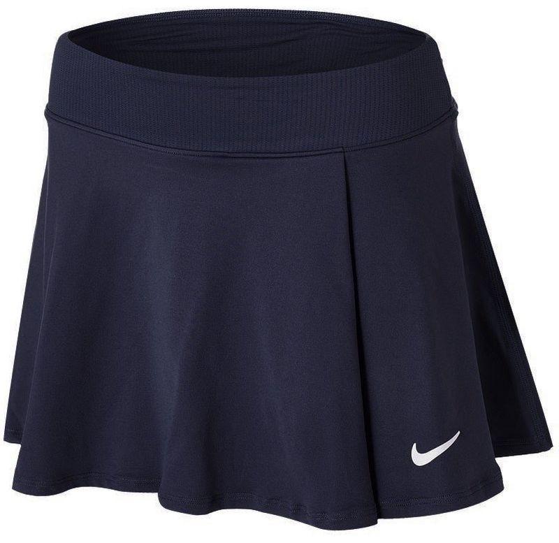 Теннисная юбка женская Nike Court Victory Flouncy Skirt obsidian/white