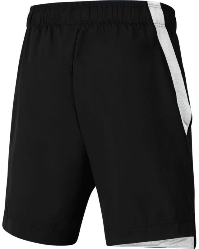 Теннисные шорты детские Nike Boys Woven Short black/white/reflective silver