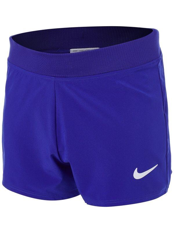 Теннисные шорты детские Nike Court Victory Short concord/white
