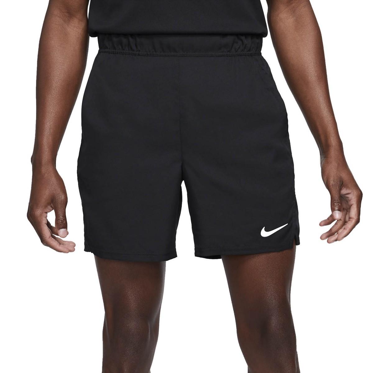 Теннисные шорты мужские Nike Court Flex Victory 7in Short black/white