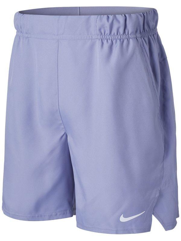 Теннисные шорты мужские Nike Court Flex Victory 7in Short indigo haze/indigo haze/white