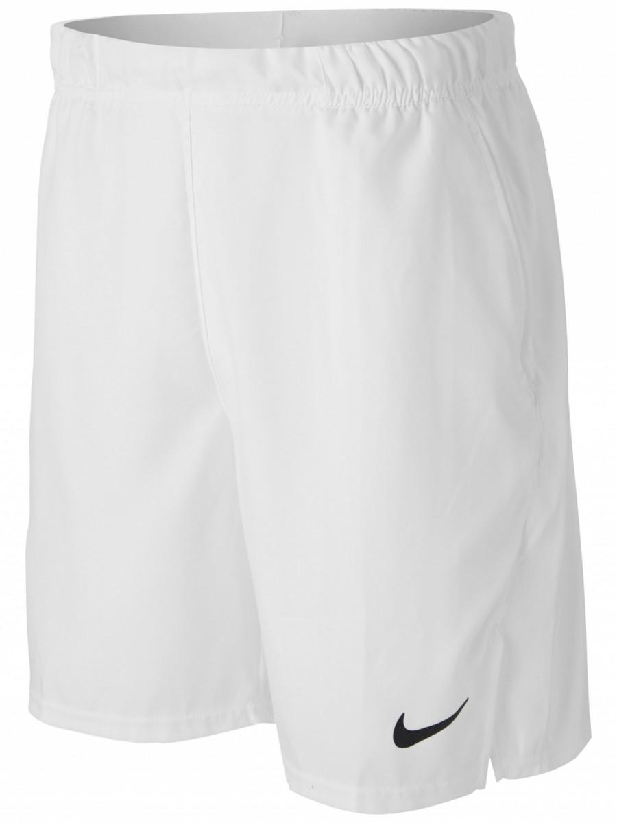 Теннисные шорты мужские Nike Court Flex Victory 9IN Short white/black