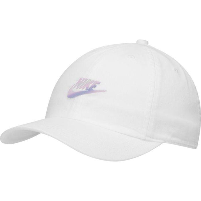 Кепка детская Nike H86 Cap Futura Youth white/dtm-irdest