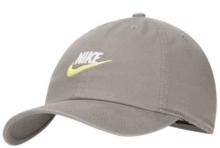 Кепка детская Nike H86 Cap Futura Youth olive/white/yellow