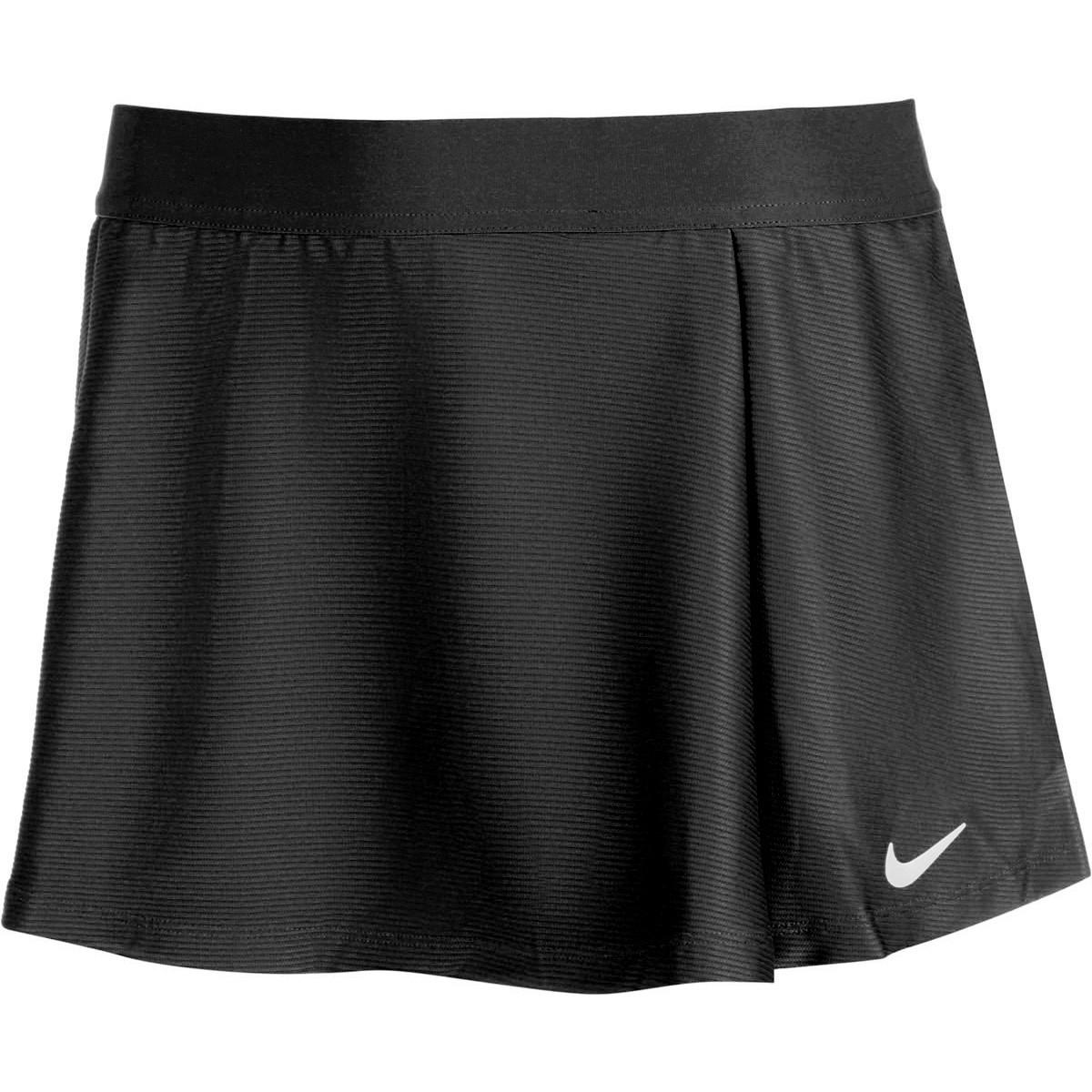 Теннисная юбка детская Nike Court Victory Flouncy Skirt black/white
