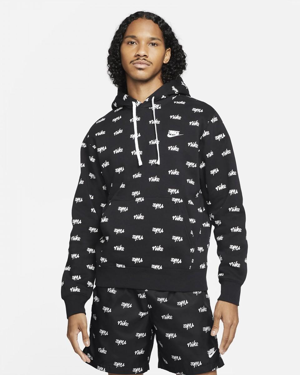 Реглан мужской Nike Sportswear Club black/black/white/white