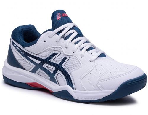 Теннисные кроссовки мужские Asics Gel-Dedicate 6 white/mako blue