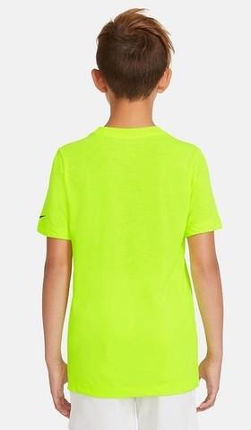 Теннисная футболка детская Nike Dry Tee Rafa volt/black