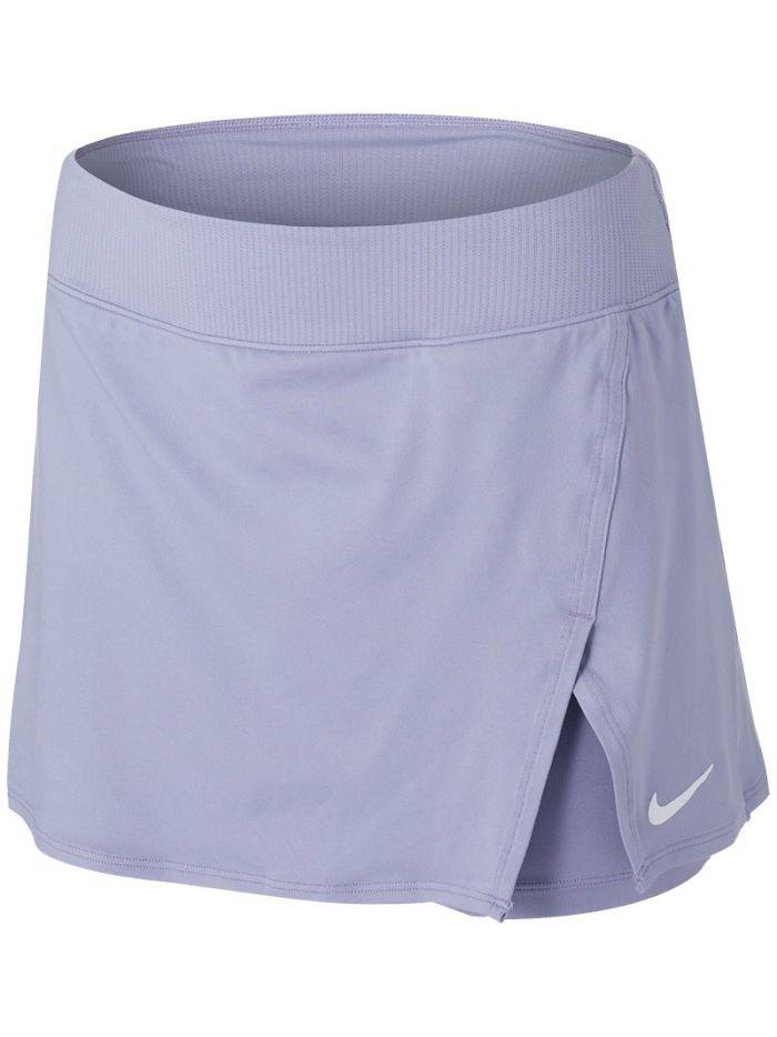 Теннисная юбка женская Nike Court Victory Tennis Skirt indigo haze/white