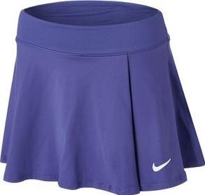 Теннисная юбка женская Nike Court Victory Flouncy Skirt dark purple dust/white
