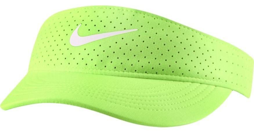 Козырек Nike Court Womens Advantage Visor lime glow/black