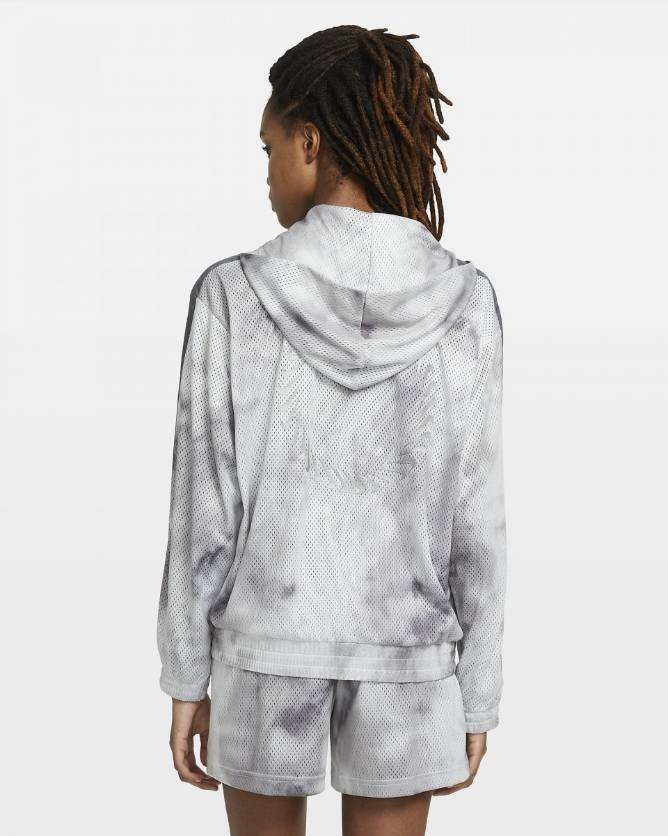 Кофта женская Nike Sportswear Icon Clash smoke grey/iron grey