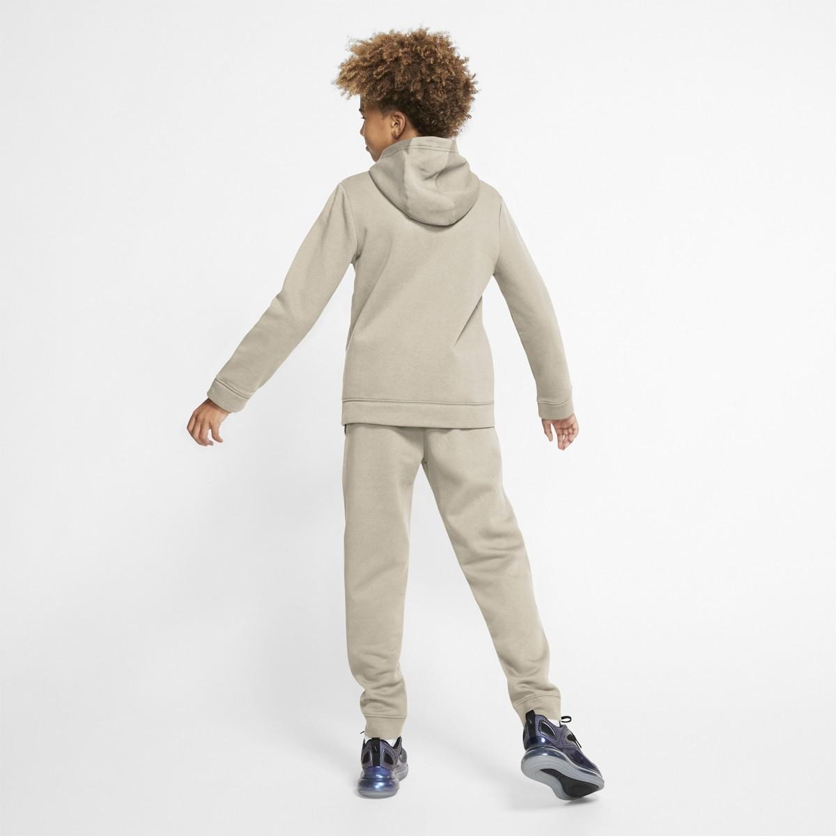 Спортивный костюм детский Nike NSW Track Suit BF Core beige/white/white
