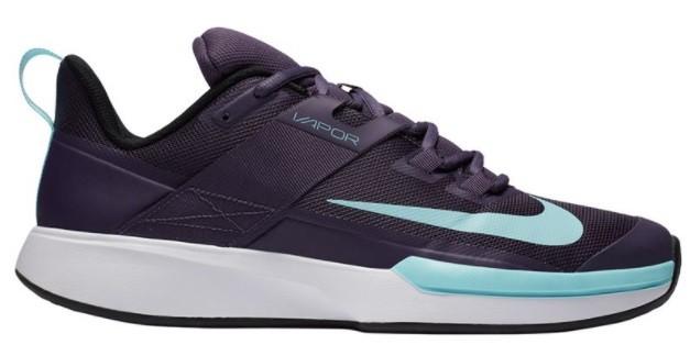 Теннисные кроссовки женские Nike Court Vapor Lite dark raisin/copa/white/black