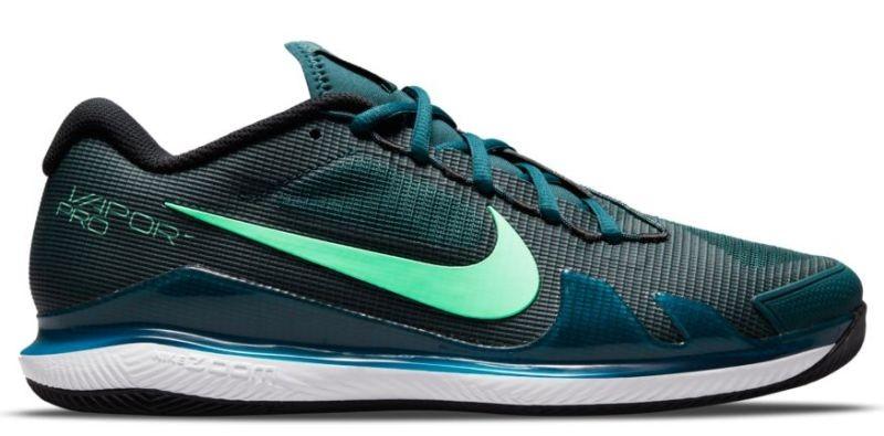 Теннисные кроссовки мужские Nike Air Zoom Vapor Pro dark teal green/green glow