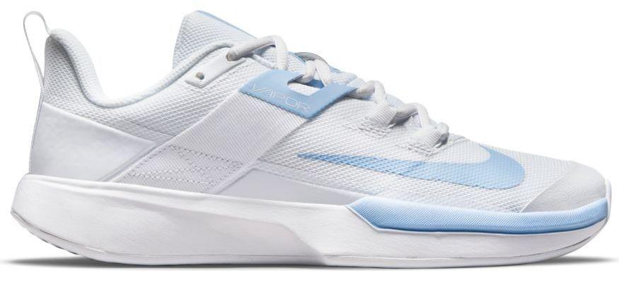 Теннисные кроссовки женские Nike Court Vapor Lite white/aluminum