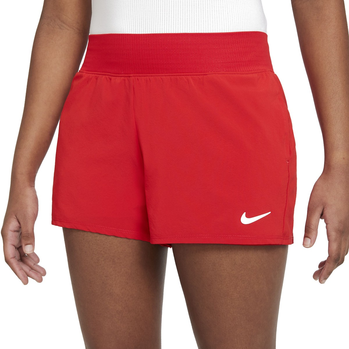 Теннисные шорты женские Nike Court Victory Short university red/white