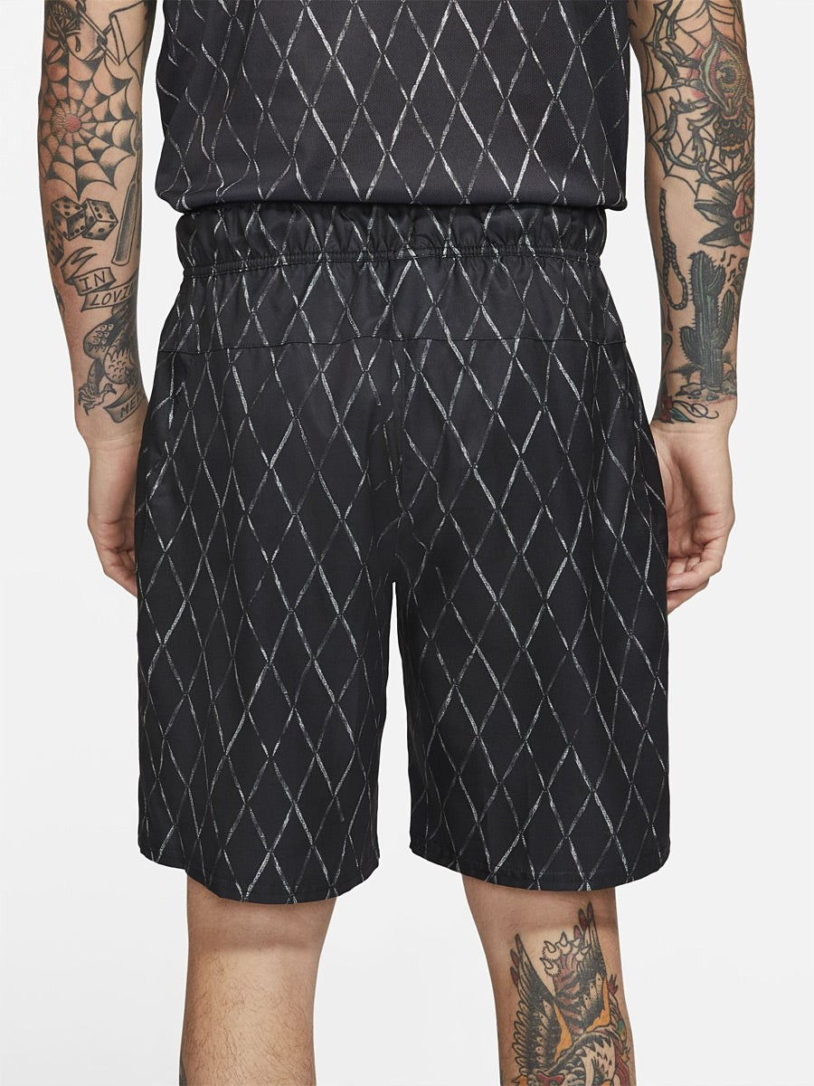 Теннисные шорты мужские Nike Court Victory Short 9in Printed black/white