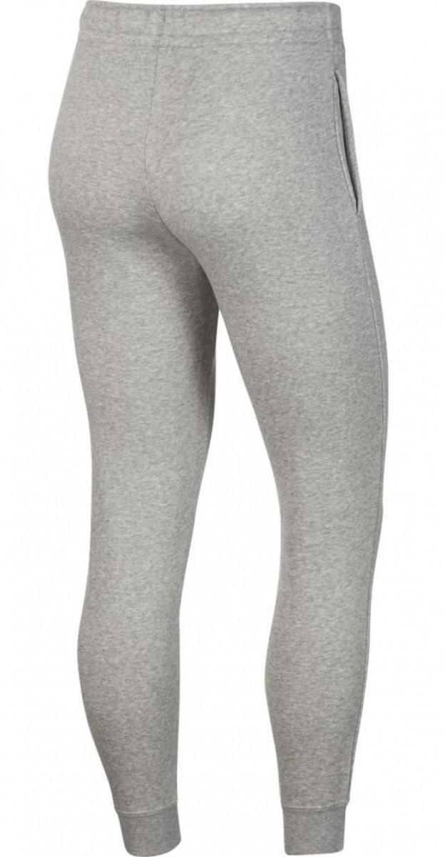 Спортивные штаны женские Nike Essential Pant Regular Fleece dk grey heather/white
