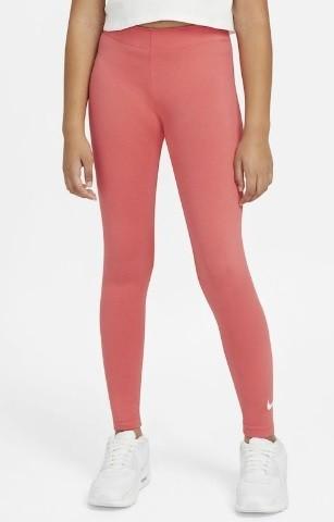 Легинсы детские Nike Sportswear Favorites Swoosh Leggings magic ember/white