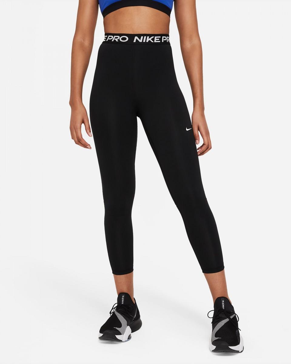 Леггинсы женские Nike Pro 365 Tight 7/8 Hi Rise black/white
