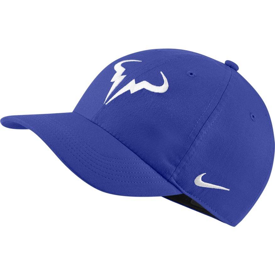 Теннисная кепка Nike Rafa U Aerobill H86 Cap hyer royal/white