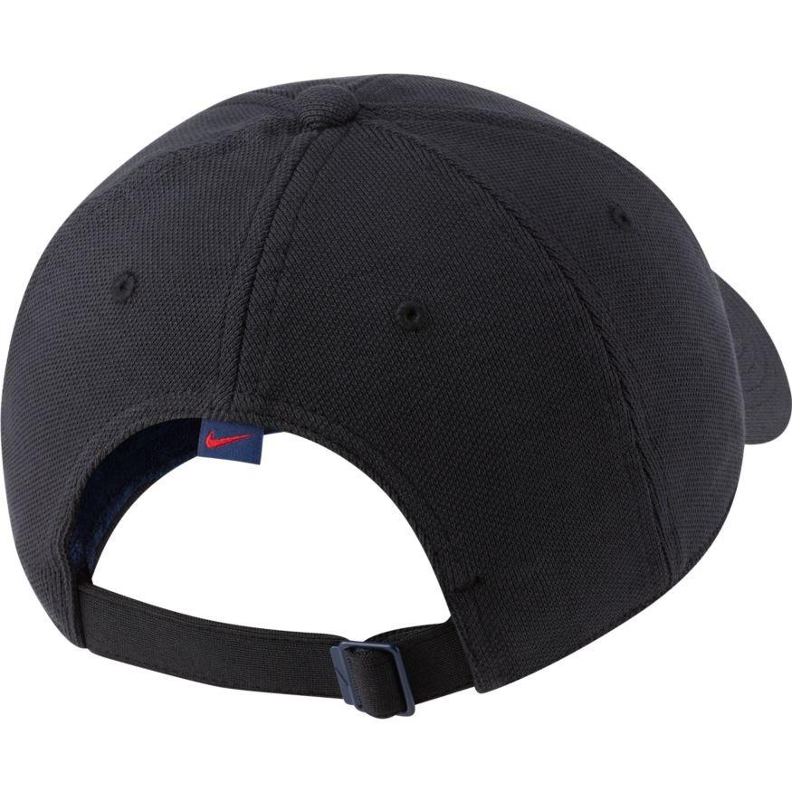 Теннисная кепка Nike H86 Court Logo Cap black/binary blue
