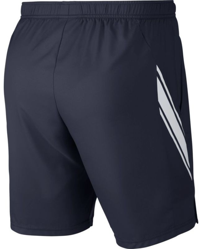 Теннисные шорты мужские Nike Court Dry 9in Short obsidian/white