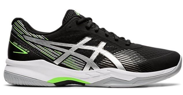 Теннисные кроссовки мужские Asics Gel-Game 8 black/pure silver