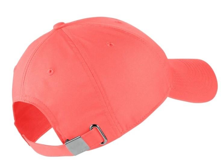 Теннисная кепка Nike H86 Metal Swoosh Cap ember glow