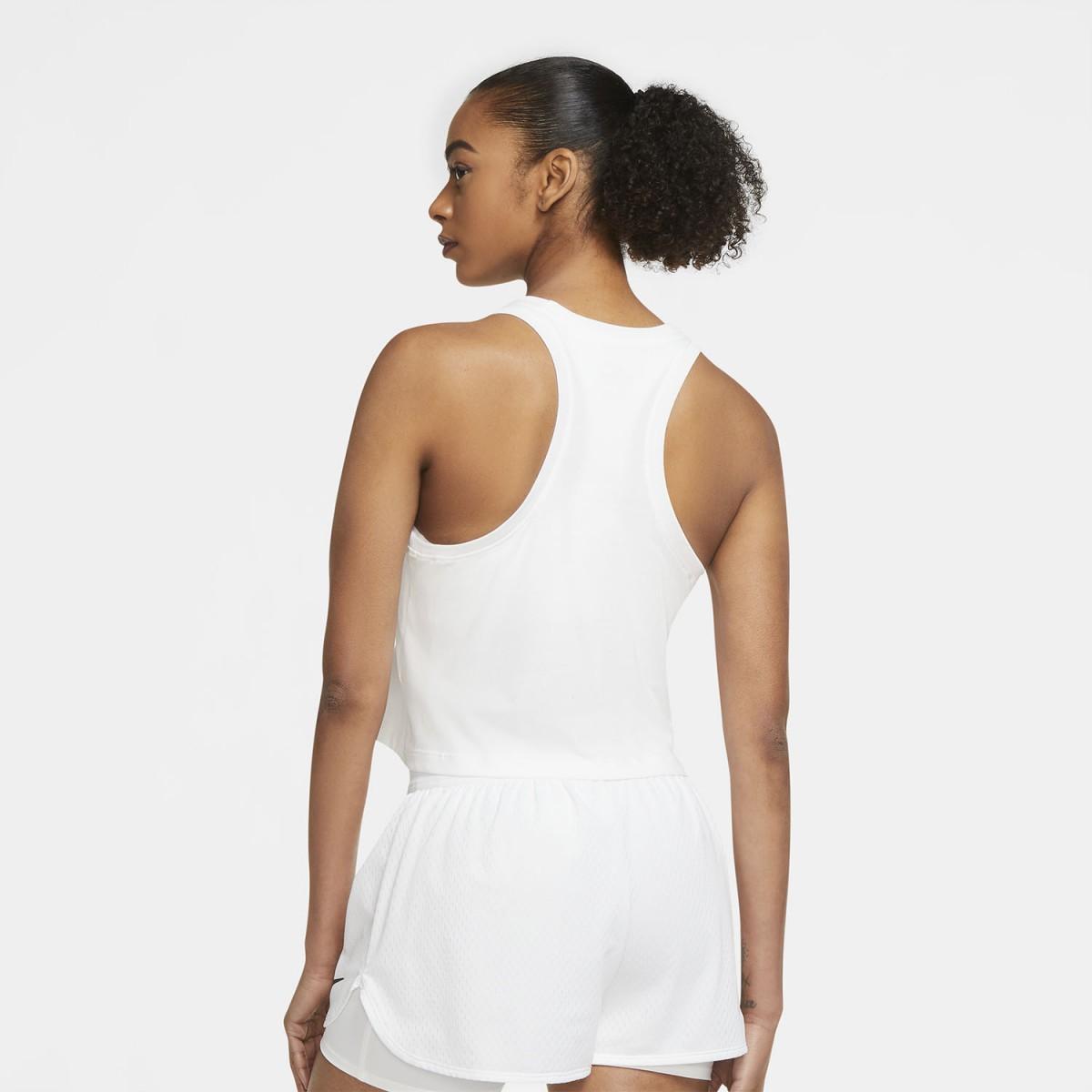 Теннисная майка женская Nike Court Tank NYC Liberty white