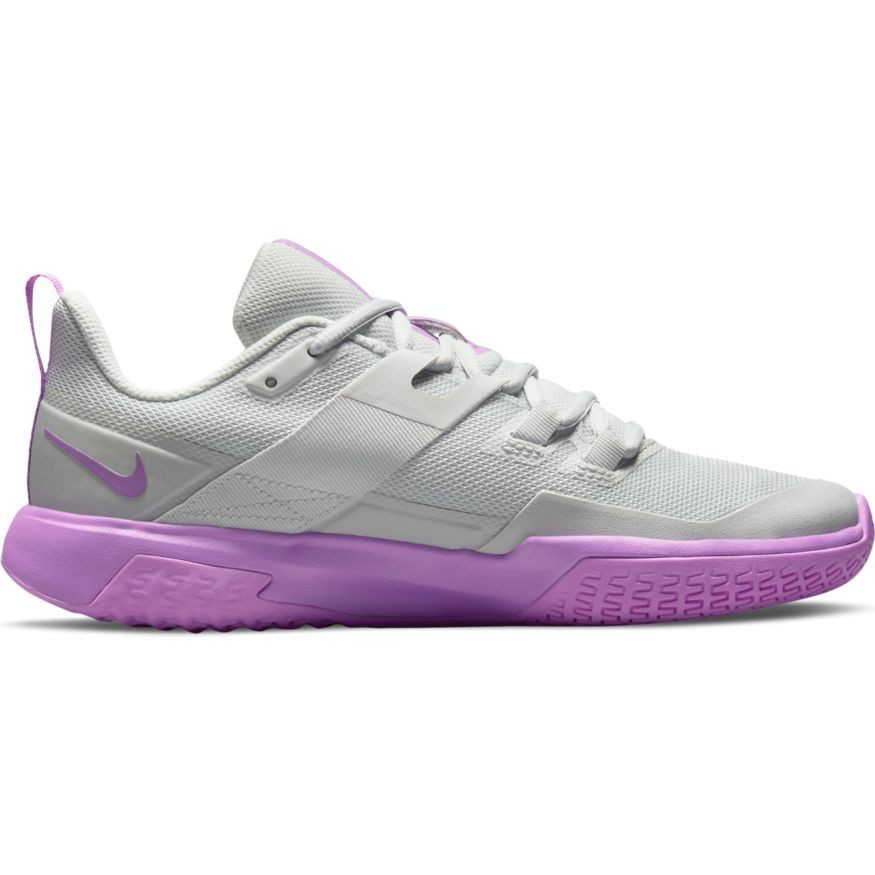 Теннисные кроссовки женские Nike Court Vapor Lite photon dust/fuschia glow/white