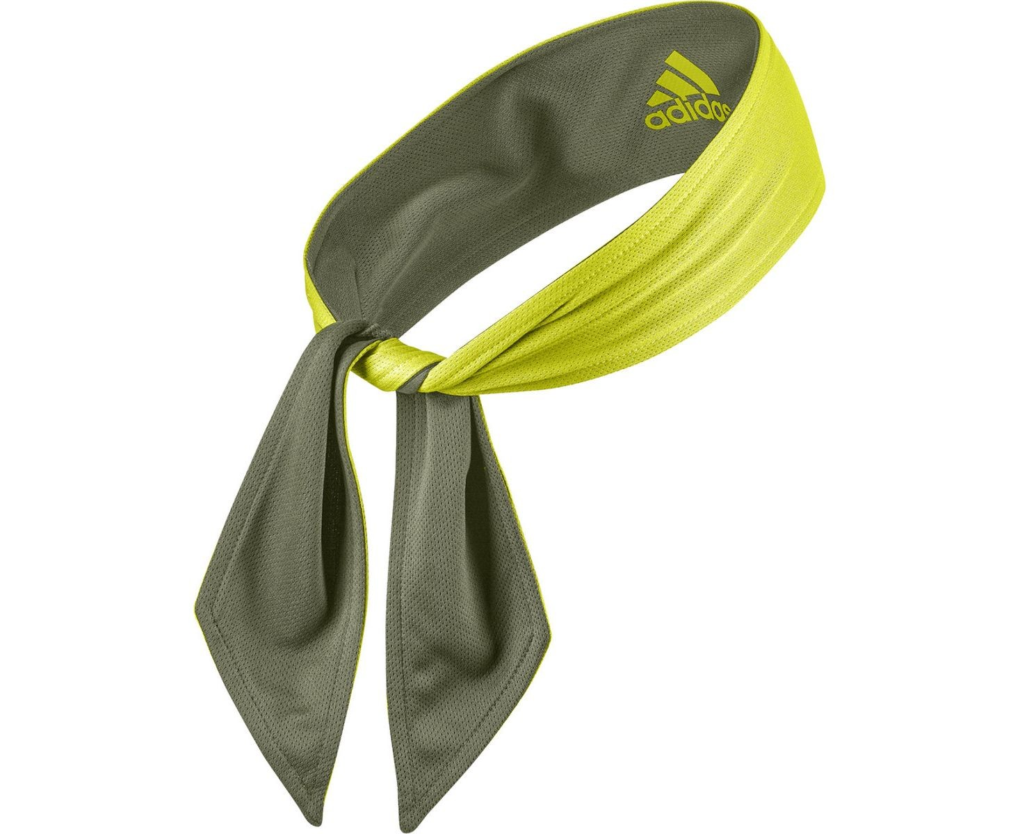 Бандана Adidas Tennis Reversible Tieband acid yellow
