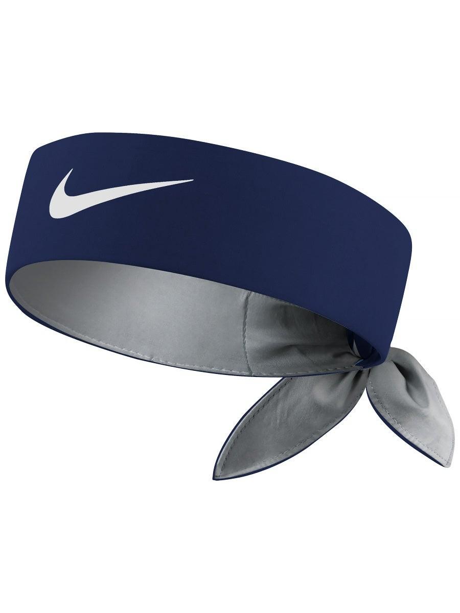 Бандана Nike Dry Tennis Headband navy/white