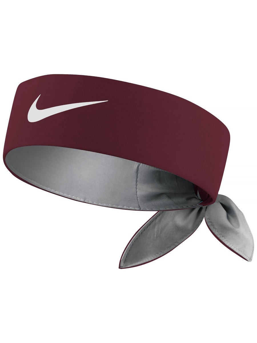 Бандана Nike Dry Tennis Headband beetroot/white