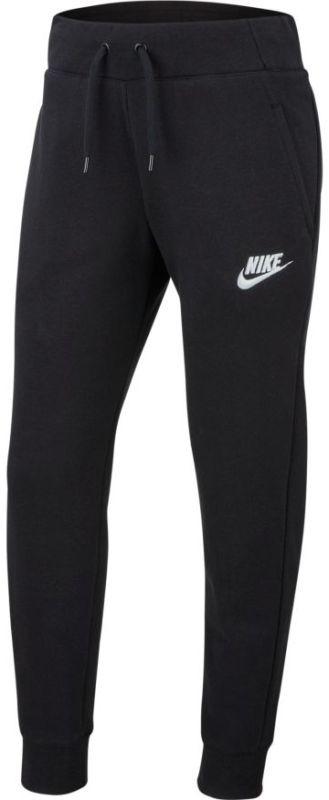 Штаны детские Nike Swoosh PE Pant black/white