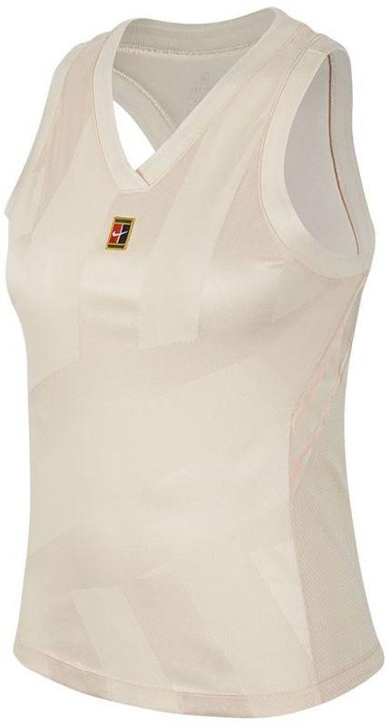 Теннисная майка женская Nike Court Dry Slam Tank LN NT guava ice
