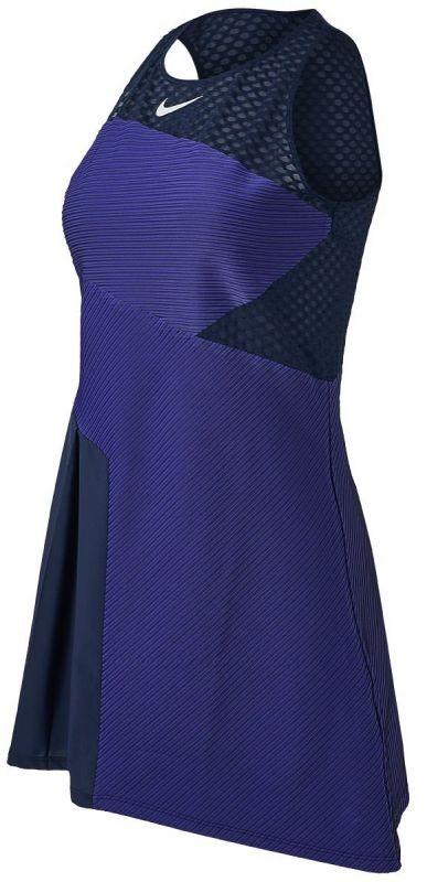 Теннисное платье женское Nike ADV Slam Dress obsidian/white