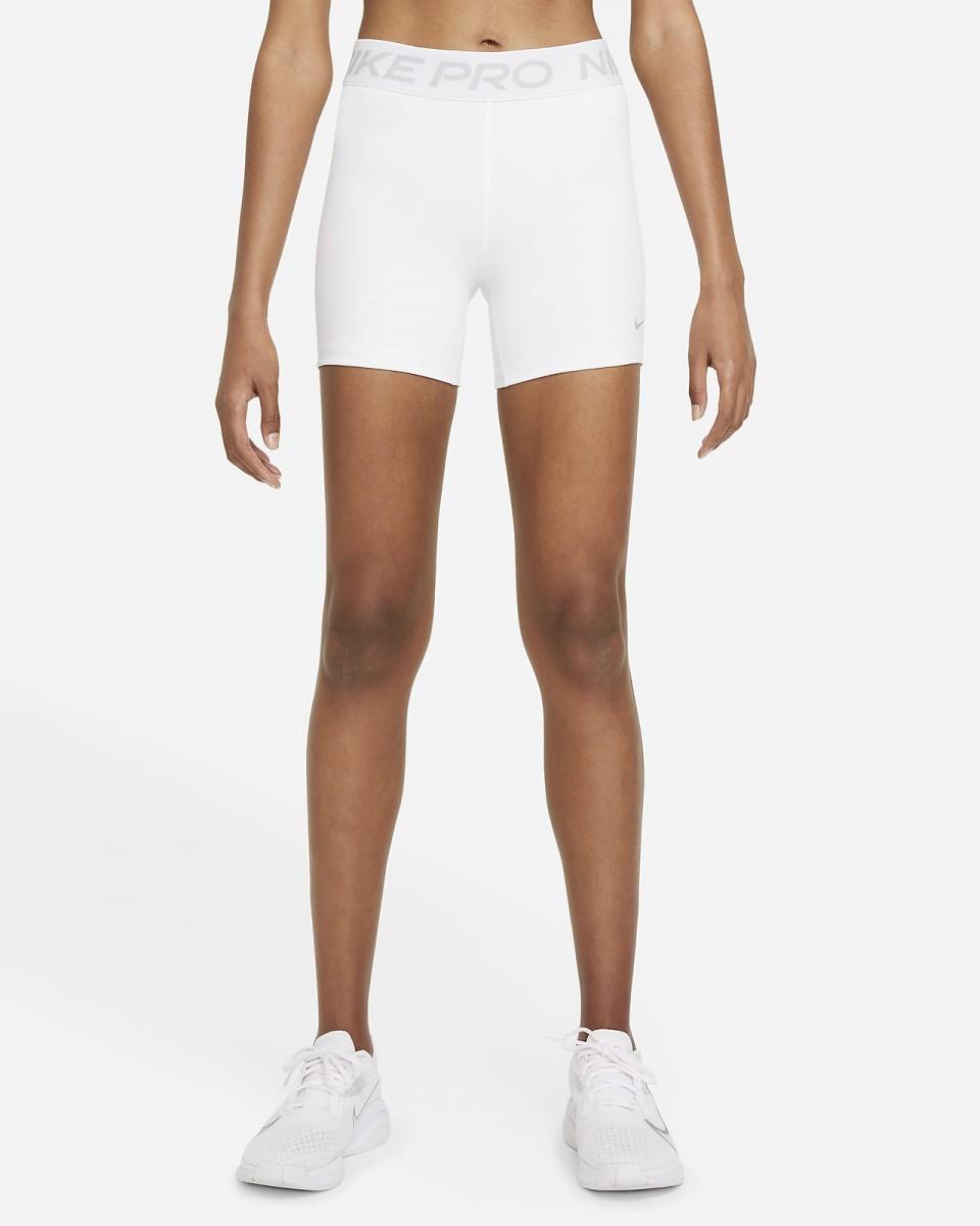 Теннисные шорты женские Nike Pro 365 Short 5in white/It smoke grey