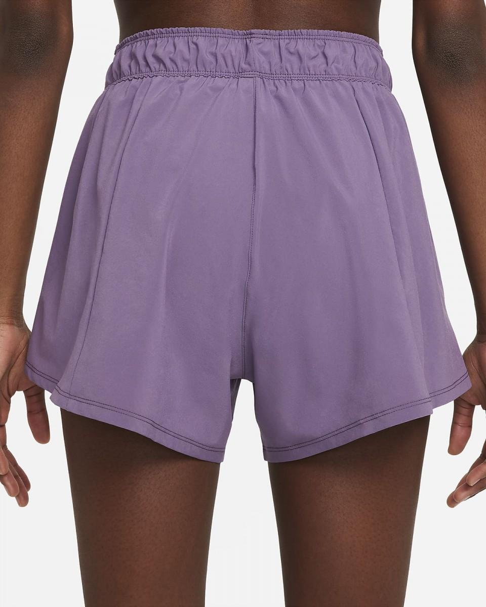 Теннисные шорты женские Nike Flex 2in1 Short amethyst smoke/white