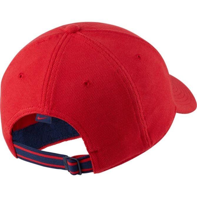 Теннисная кепка Nike H86 Court Logo Cap university red