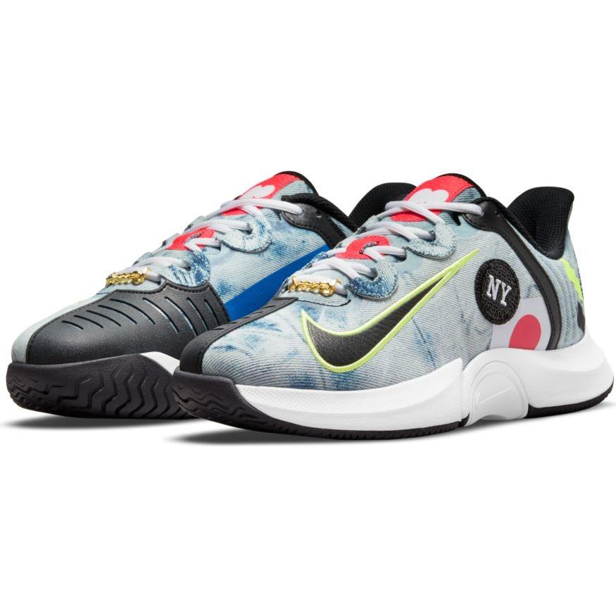 Теннисные кроссовки женские Nike Air Zoom GP Turbo Osaka white/black/bright crimson