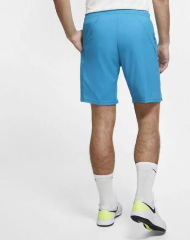 Теннисные шорты мужские Nike Court Dry 9in Short neo turquoise