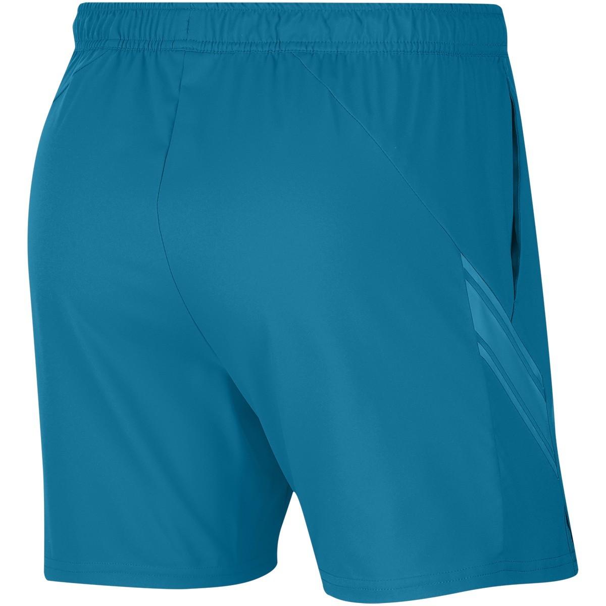 Теннисные шорты мужские Nike Court Dry 7in Short neo turquoise
